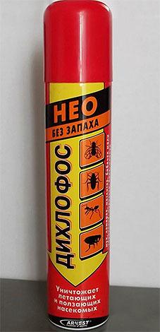Некоторые марки современных Дихлофосов практически не имеют запаха