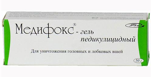 Медифокс в форме геля