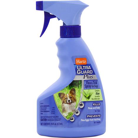 Спреи от блох Hartz достаточно эффективны, но их нужно применять с особой осторожностью при обработке котят и щенков