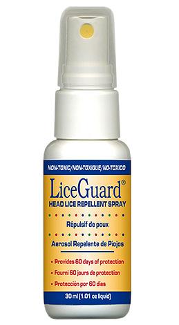 Спрей LiceGuard лучше всего совмещать со специальным гребнем от вшей