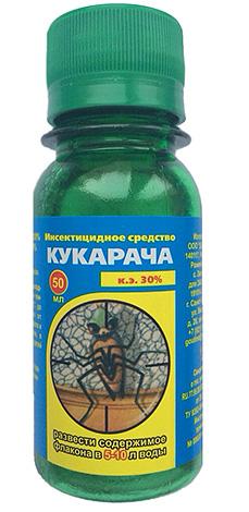 Средство Кукарача можно применять не только для уничтожения тараканов в доме, но также и блох