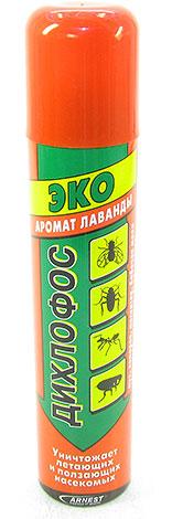 В составе Дихлофоса Эко - циперметрин и приятные ароматизаторы