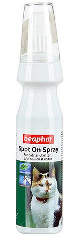 Спрей Beaphar тоже хорошо подходит для избавления котят от блох