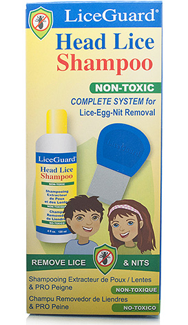 Шампунь LiceGuard трудно назвать эффективным лекарством от вшей, но он ослабляет крепление гнид к волосу, что позволяет легче их вычесывать.