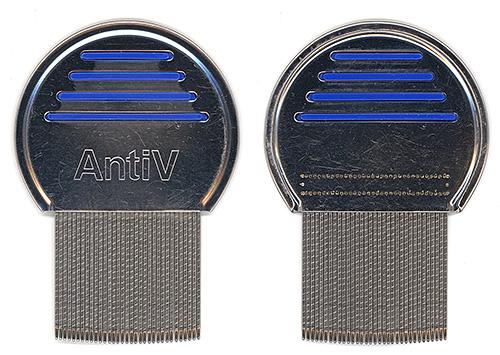 Гребень AntiV сегодня считается одним из наиболее популярных