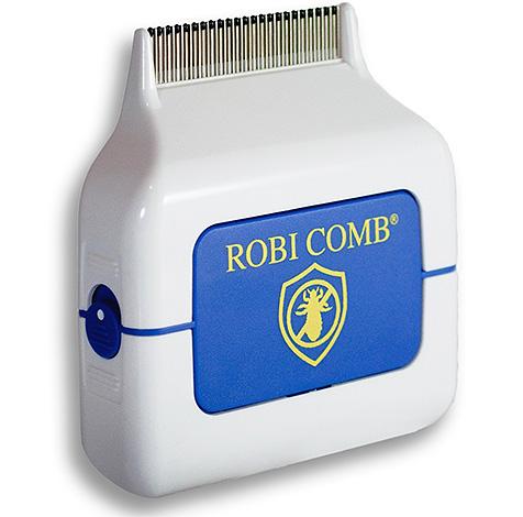 Электронный гребень от гнид и вшей Robi Comb полностью безопасен для человека, так что не стоит его бояться.
