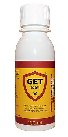 Современное безопасное средство от клопов Get (концентрат для разведения и распыления в виде спрея)