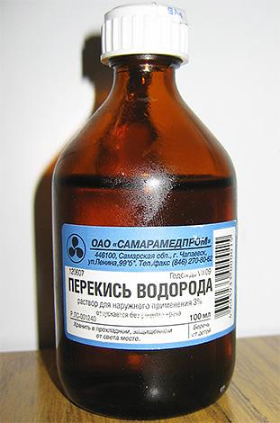 Перекись водорода используют для дезинфицирования ранки от укуса