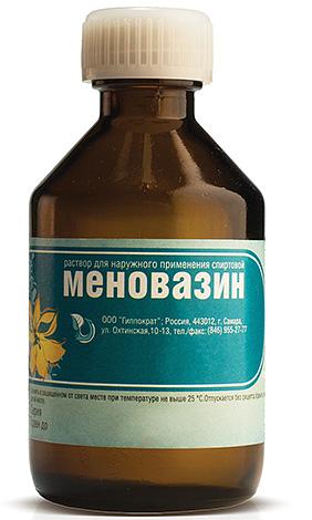 Меновазин поможет, если укусы вшей осложнились аллергической реакцией