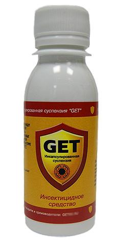 Для уничтожения шершней можно использовать высокоэффективные современные инсектициды, например, препарат Get