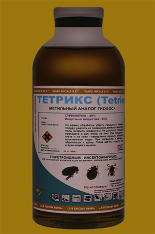Инсектицидное средство Тетрикс