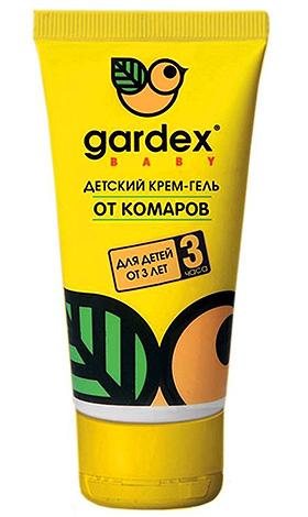 Детский крем-гель от укусов комаров Gardex