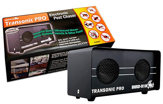 Отпугиватель птиц, насекомых и грызунов Bird-X Transonic Pro