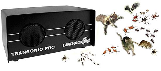 Ультразвуковой отпугиватель Bird-X Transonic Pro