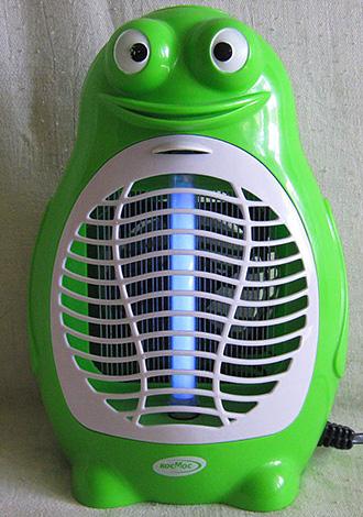 На фото показан пример бытового лампового уничтожителя насекомых.