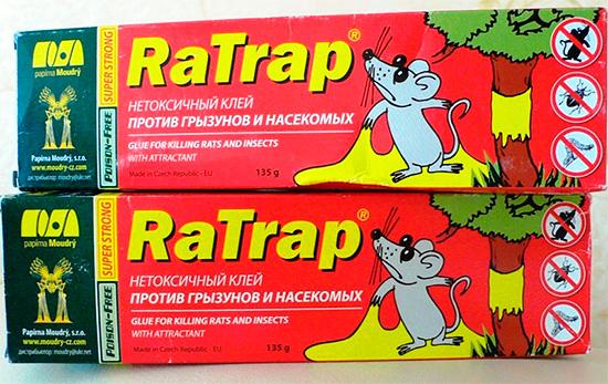 Клей RaTrap хорошо подходит для изготовления липких ловушек для насекомых.