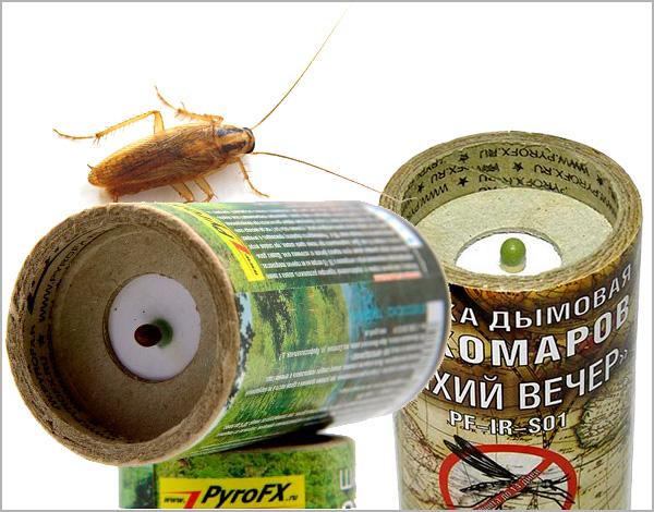 Выясняем особенности применения инсектицидных дымовых шашек при борьбе с тараканами в квартире или ином замкнутом помещении...