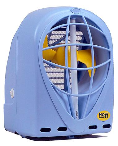 Ловушка для насекомых Mo El с всасывающим вентилятором.