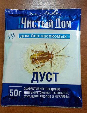 Дуст для уничтожения насекомых Чистый Дом