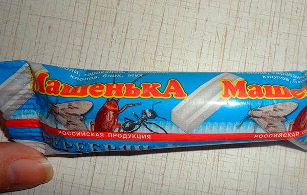 При правильном применении инсектицидный карандаш Машенька является вполне безопасным для человека средством.