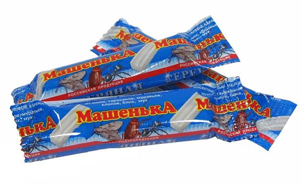 Мелки от тараканов Машенька весьма активно продаются и сегодня, несмотря на присутствие на рынке более эффективных препаратов.