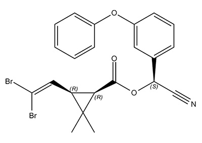 Дельтаметрин - химическая формула
