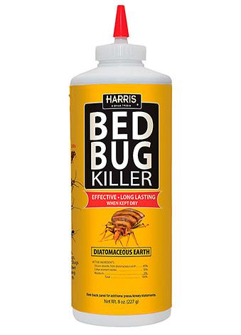 Средство от постельных клопов Bed Bug Killer (тоже на базе диатомитового порошка).