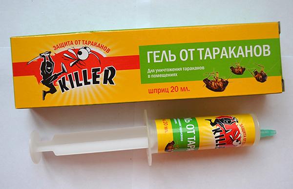 Гель от тараканов Киллер