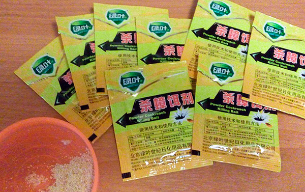 Китайский порошок от тараканов