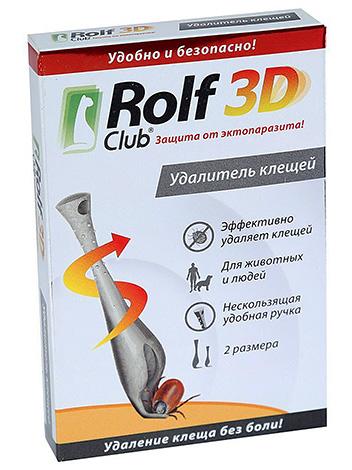 Удалитель клещей Rolf Club 3D
