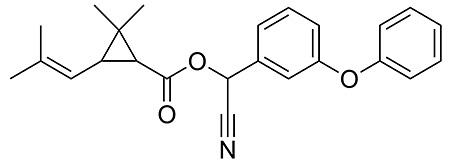 Цифенотрин: химическая формула