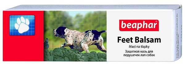 Beaphar Feet Balsam - Защитная мазь для подушечек лап собак
