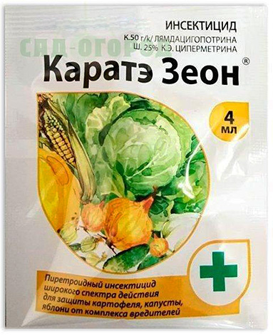 Инсектицидное средство Каратэ Зеон