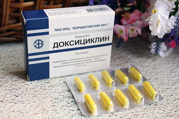 Доксициклин при боррелиозе