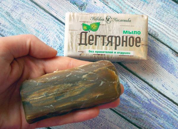 Дегтярное мыло - популярное народное средство против паутинного клеща