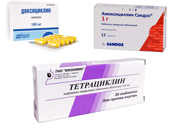 Лекарства при боррелиозе