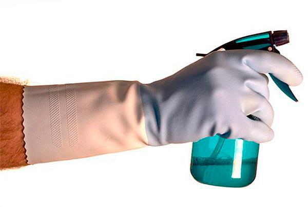 При рабоче с Палачом достаточно использовать обычные средства индивидуальной защиты...